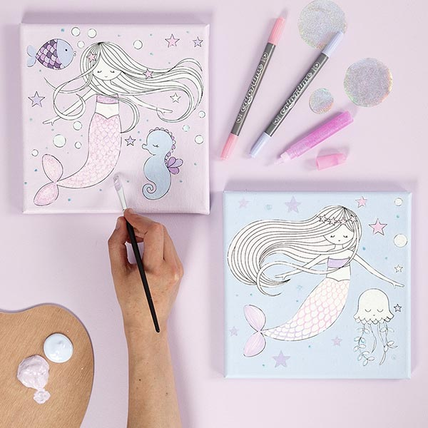 Kidsbox Meerjungfrau Malen