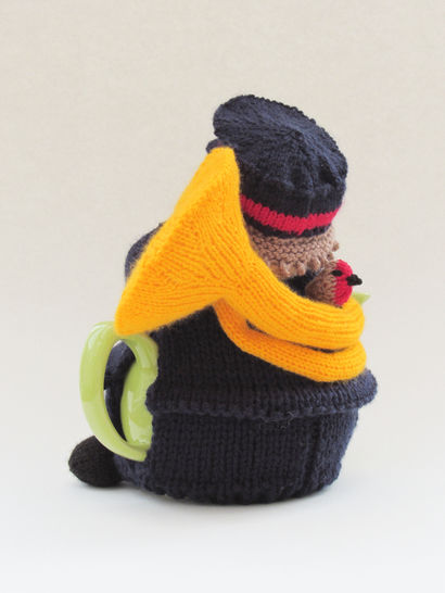 Brass Band Man Tea Cosy Knitting Pattern