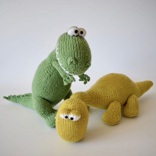 Trex and Bronty Dinosaurs