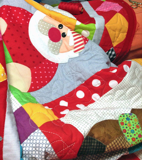 Candy Cane Christmas Quilt Pattern