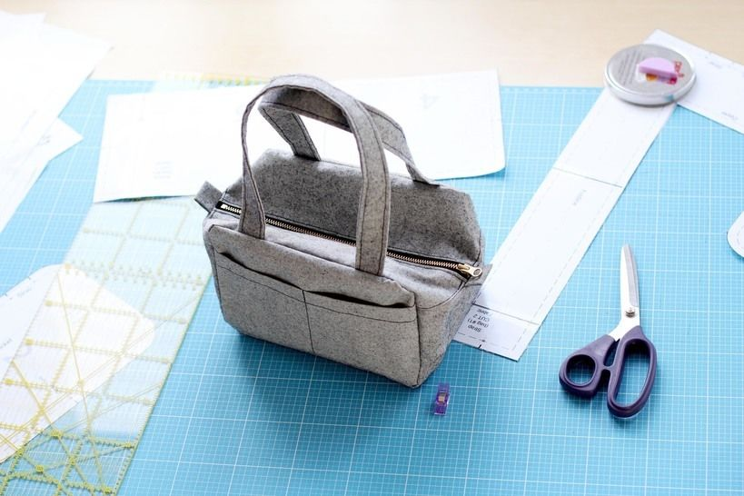 Bag Anais - lunch bag - toiletry bag - Sewing Pattern