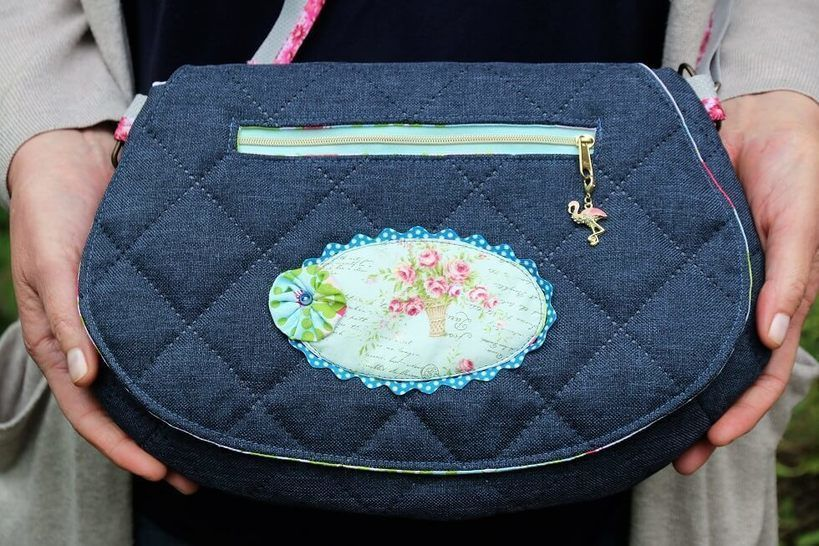 The Red Rocks Purse Sewing Pattern