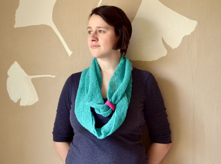 Point of view scarf