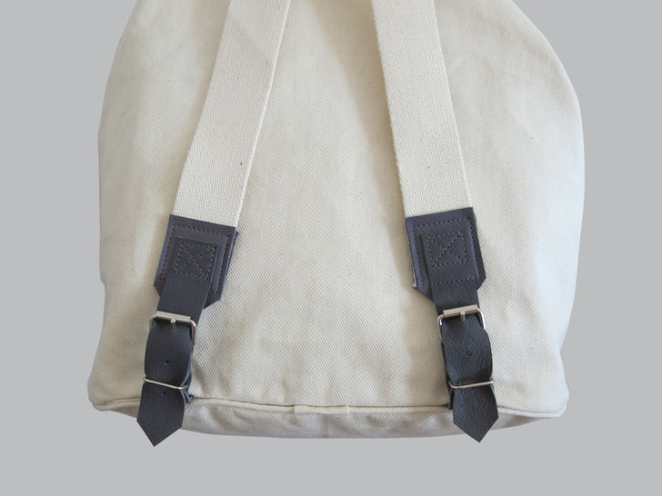 Backpack No. 1 with leather details