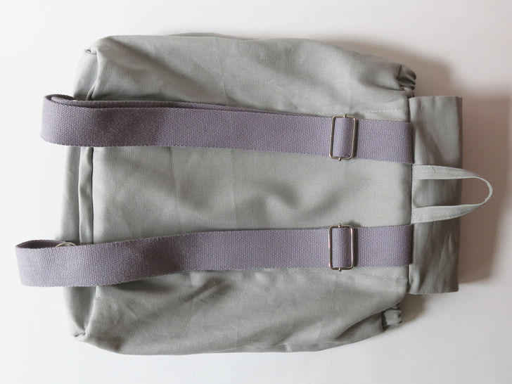 Simple no-hardware backpack No.3