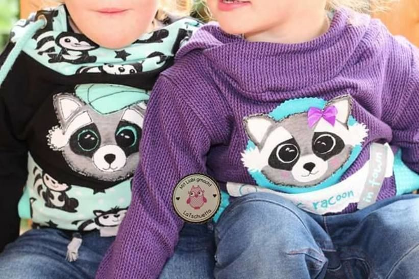 """Applikationsvorlage/Ebook - """"Family Racoon"""""""