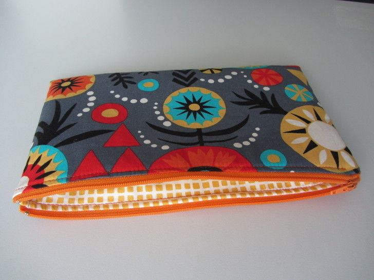 Perfect zip pouch pattern - zipper bag tutorial sewing pouches