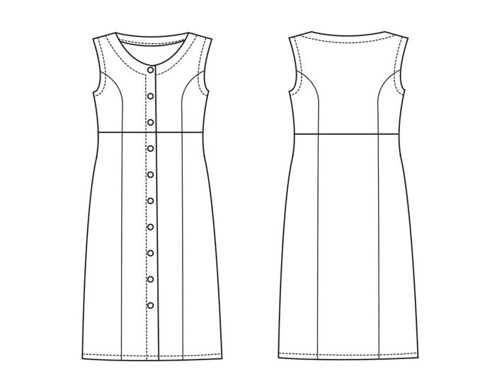 Dress EVA PDF Pattern + Tutorial