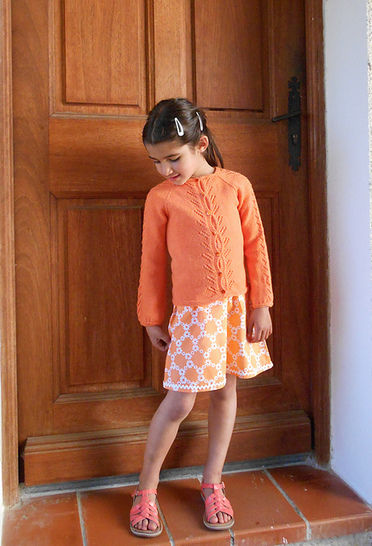 Escarpolette - cardigan for babies and girls