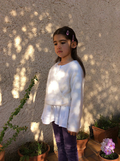 Petite gourmandise - cardigan for babies and girls