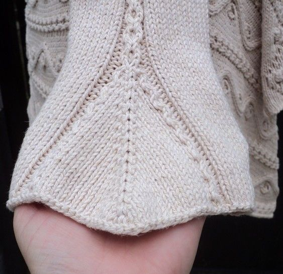 Women's Yolande Cardigan - Knitting Pattern