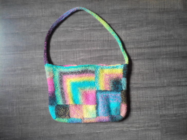 Squarely Bag - Felted Bag