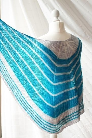 Jokulsarlon Shawl - Knitting