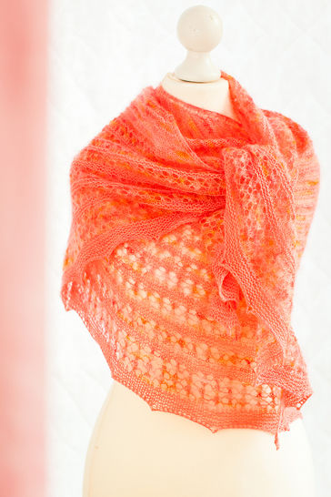 Agrumes Shawl - Knitting