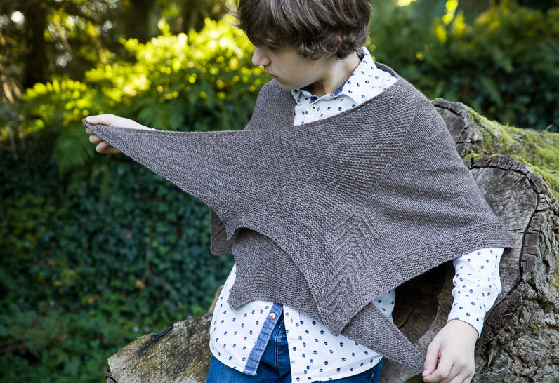 Lestat Shawl - Knitting