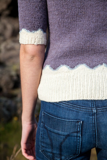 Vedur Short-Sleeved Jumper - Knitting