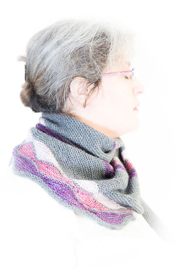Châle On A Whim - tricot