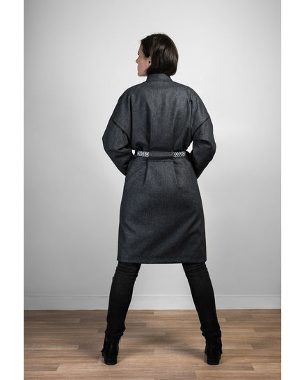 RIGA coat - sewing pattern with detailed instructions (en)