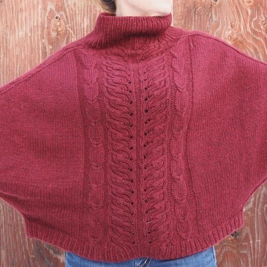 Pullover Winter Butterfly
