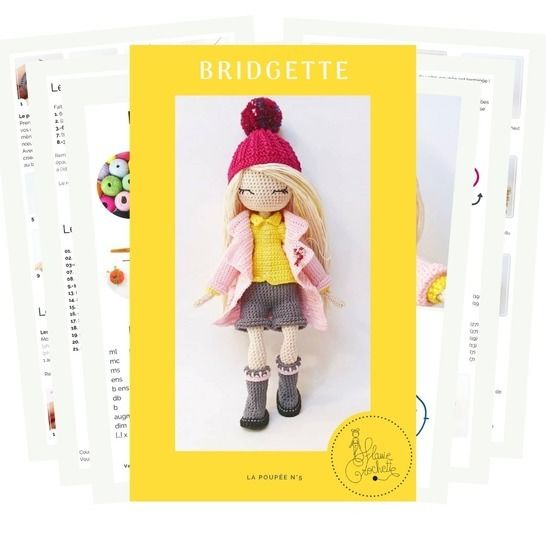 Poupée BRIDGETTE - E-BOOK