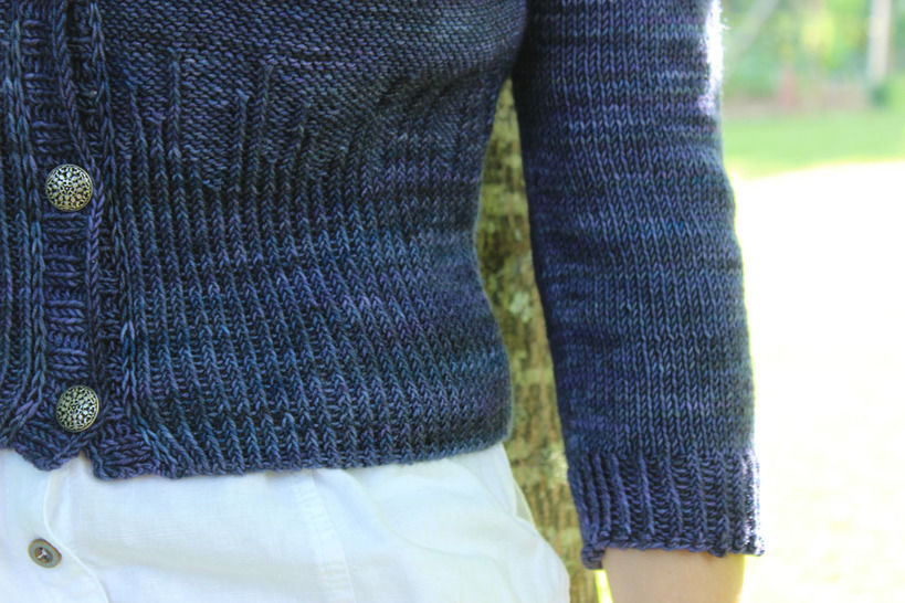 Women short cardigan - (Grand) Agora - 34 to 54 - Knitting