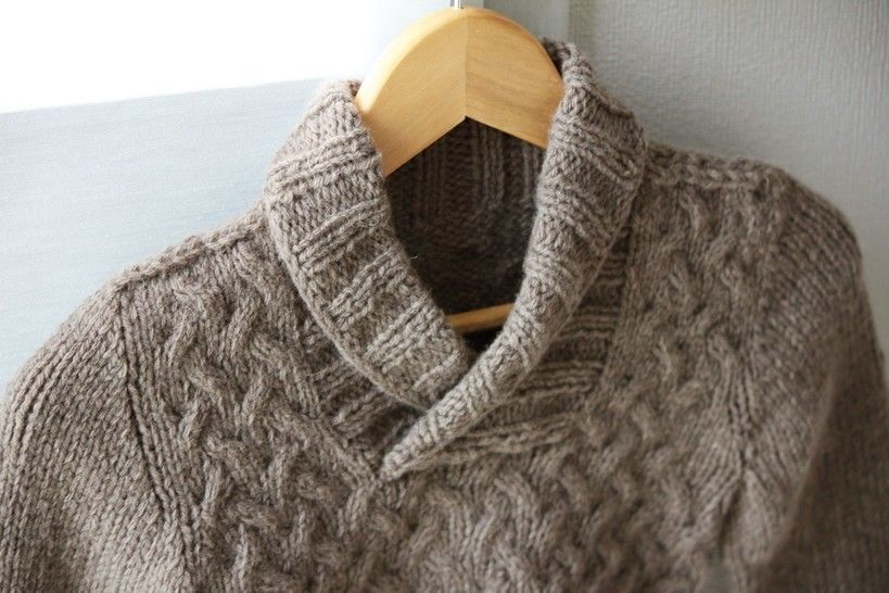 Gaston Child Sweater Knitting Pattern