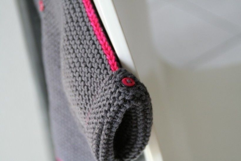 neon baby and child sweater knitting pattern