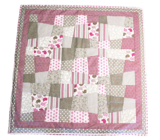 Baby quilt pdf pattern and tutorial - Emergent dream