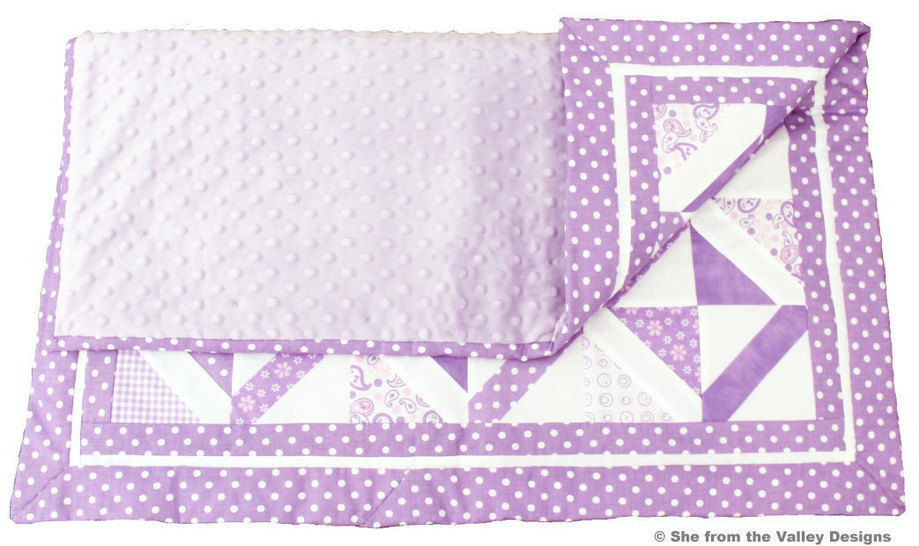 Baby quilt pdf pattern and tutorial - Mermaid net