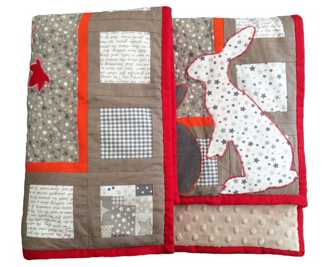 Baby quilt paper piecing pdf pattern and tutorial - Winter is coming