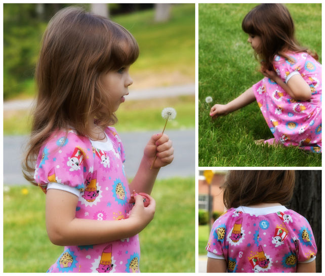 GIRLS DRESS, TUNIC, SEWING PATTERN, LONG SLEEVES, SHORT SLEEVES, KNIT FABRICS, EASY BEGINNER