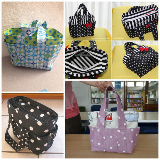 Handbag, Box Bag, Tote - Sewing Pattern