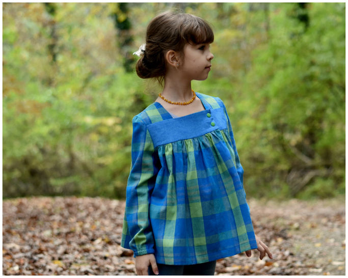 GIRLS DRESS, TUNIC, SEWING PATTERN, LONG SLEEVES