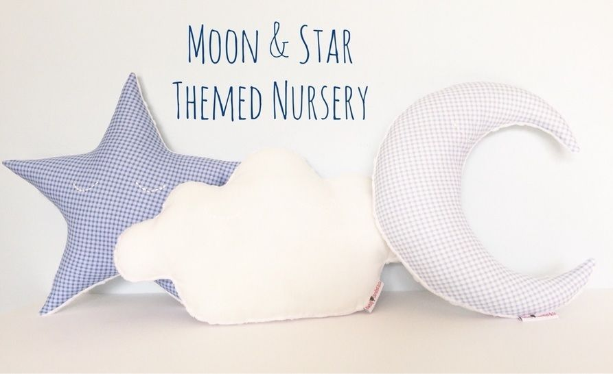 Moon - Star - Cloud Pillow Sewing Pattern // Make your own // Toy Pattern