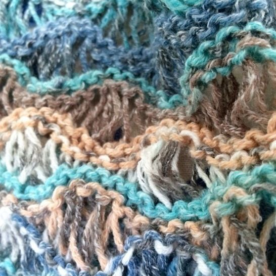 Aphroditia Lace Infinity Scarf Cowl Snood Knitting Pattern