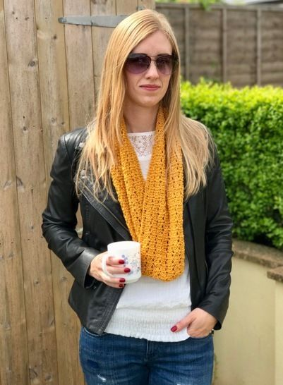 Madeleina Lace Cowl Snood Infinity Scarf