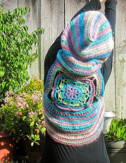 Fairy Hooded Vest Crochet Pattern