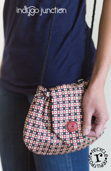Recycled Tie-to-Go Purse Pattern