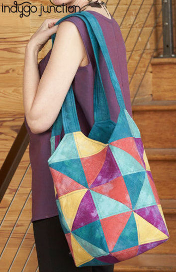 Tote-All Patchwork Tote Bag