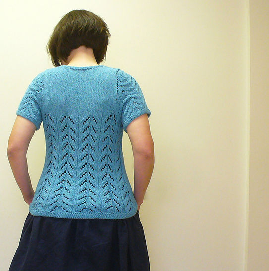 A Tee recipe knitting pattern