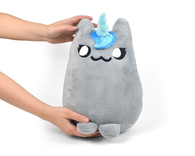 Mewnicorn Cat Kitty Unicorn Pillow Plush Stuffed Toy