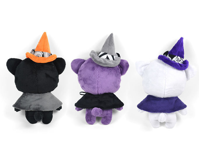 Witch Kitty Cat Stuffed Animal Toy Sewing Pattern