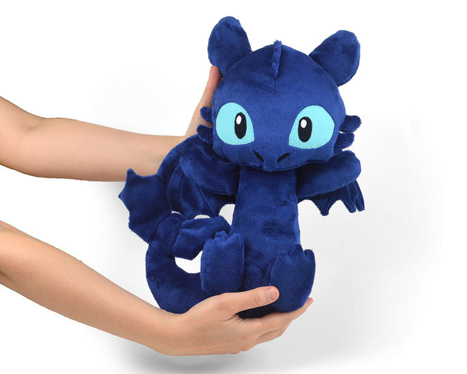 Night Fury Dragon Toothless Plush Stuffed Animal Toy Sewing Pattern