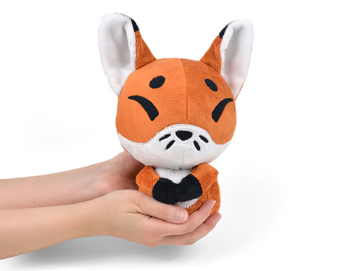 Baby Fox Kitsune Plush Toy Sewing Pattern