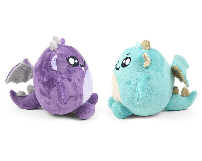 Chubby Dragon Plush Toy Sewing Pattern