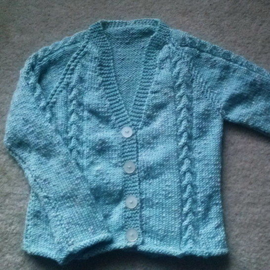Dearbhla girls cardigan - knitting pattern