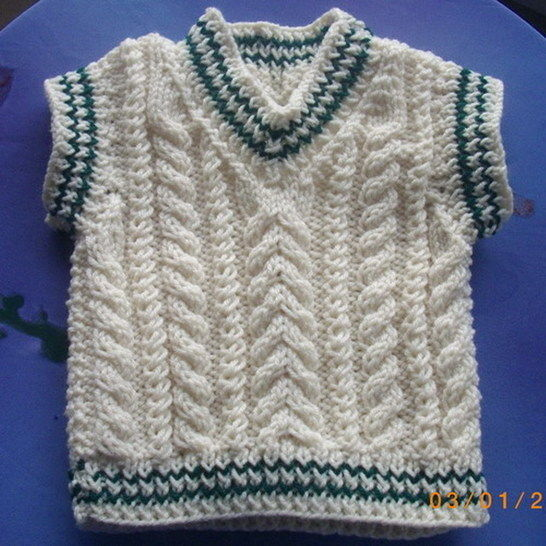 Eamonn cable pullover and hat - knitting pattern
