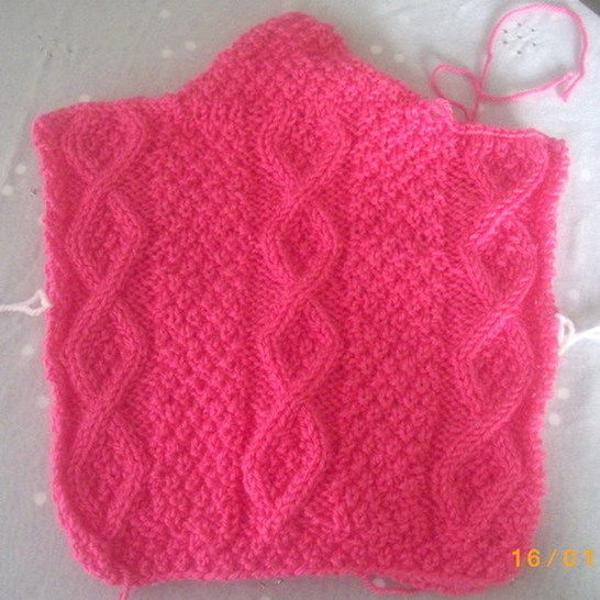Aine baby and toddler cardigan - knitting pattern