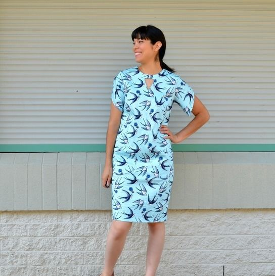 The Abigail Dress and Top PDF sewing pattern
