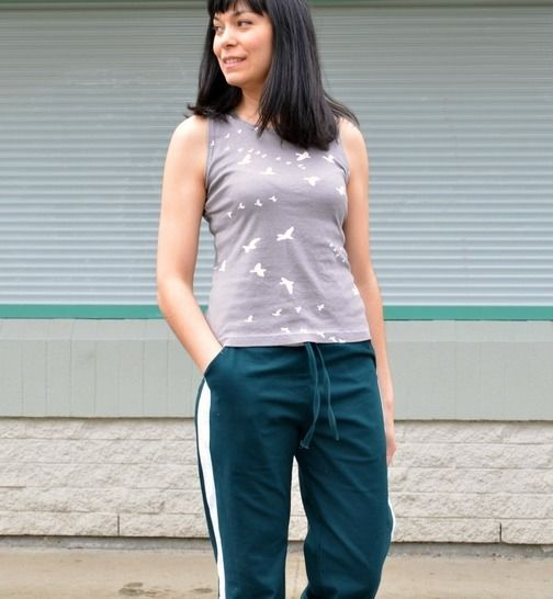 Helen Track pants and Sleeveless top